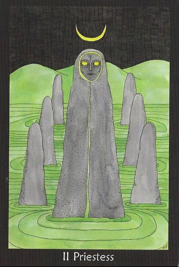 Priestess - Tarot of the Crone by Ellen Lorenzi-Prince