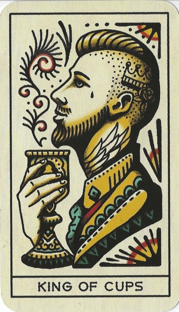 King of Cups - Tattoo Tarot by Megamunden & Diana McMahon Collis.jpg
