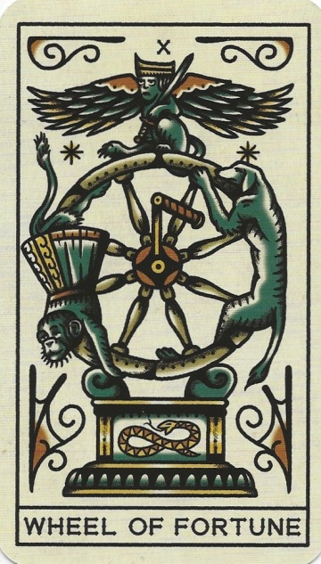 Wheel of Fortune - Tattoo Tarot by Megamunden & Diana McMahon Collis.jpg