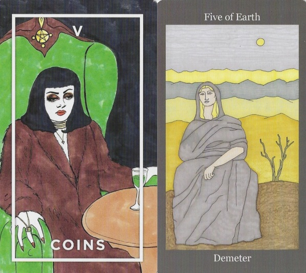 Five of Coins and Earth.jpg