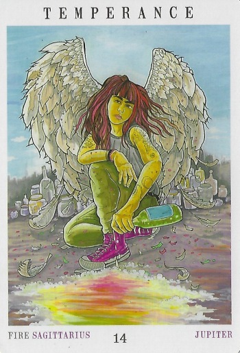 Temperance - Next World Tarot by Cristy C. Road