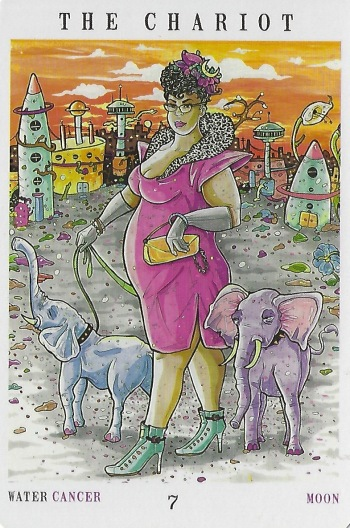 The Chariot - Next World Tarot by Cristy C. Road