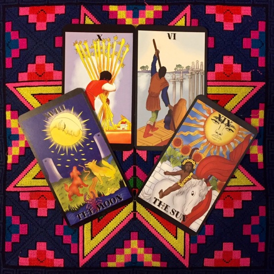 Melanated Classic Tarot by Julia Goolsby & Oubria Tronshaw