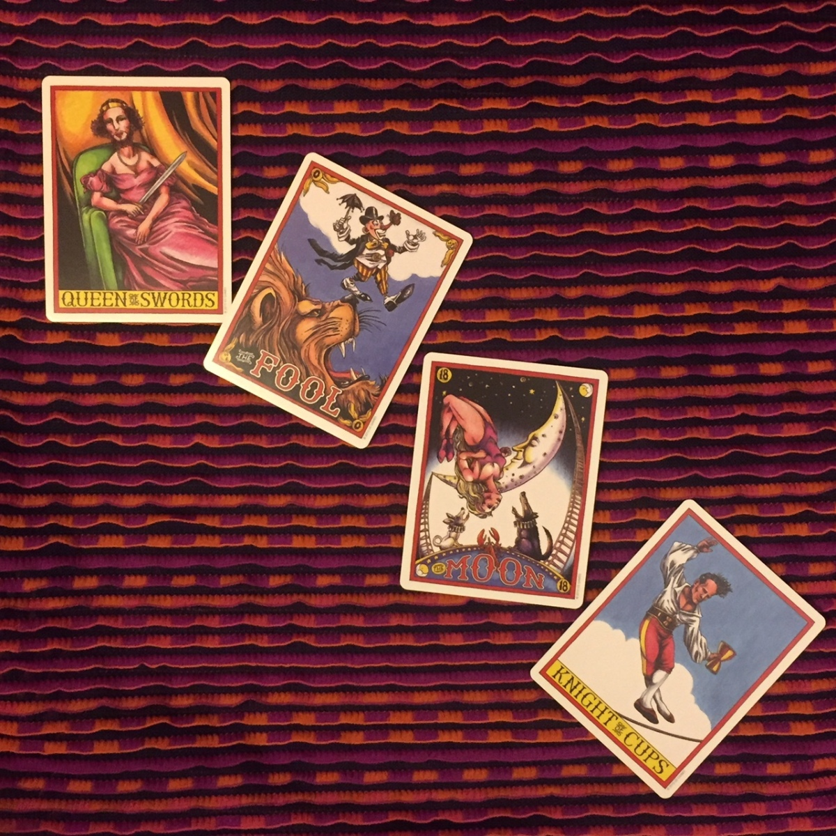 Tarot Reading for the Collective ~ May 2019: Le Grande Circus