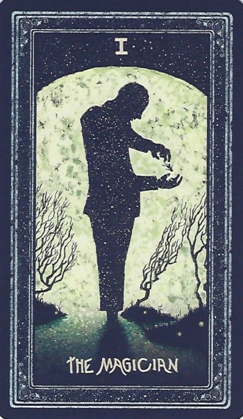 The Magician - The Prisma Visions Tarot by James R. Eads