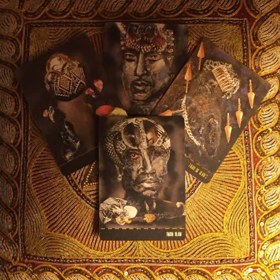 Dust II Onyx - A Melanated Tarot Deck by Courtney Alexander