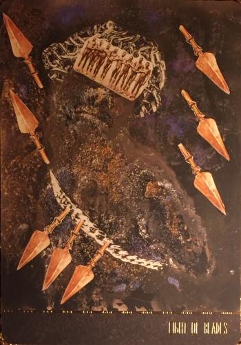 Eight of Blades - Dust II Onyx by Courtney Alexander