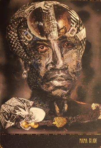 Mama Blade - Dust II Onyx by Courtney Alexander