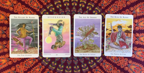 Next World Tarot by Cristy C. Road Question 1