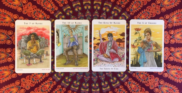 Next World Tarot by Cristy C. Road Question 2