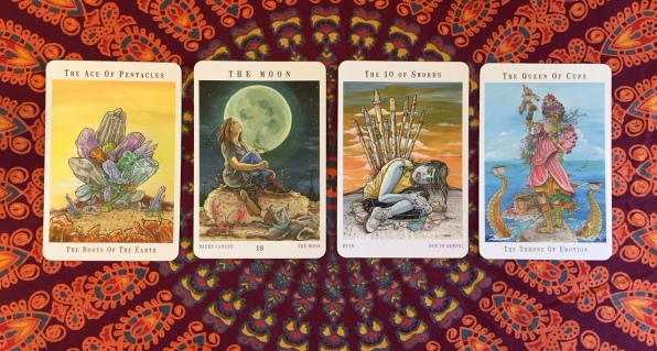 Next World Tarot by Cristy C. Road Question 3