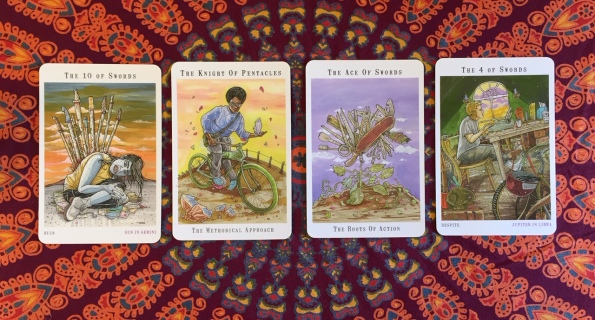 Next World Tarot by Cristy C. Road Question 4
