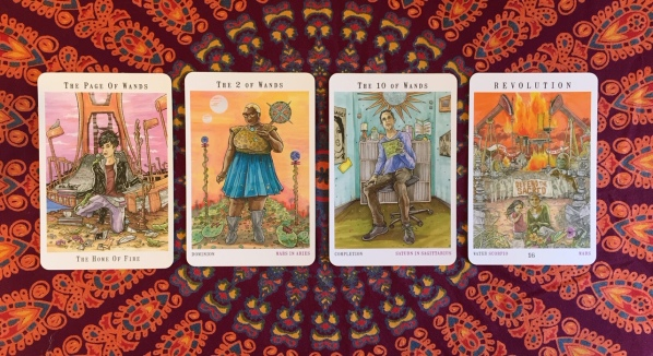 Next World Tarot by Cristy C. Road Question 5