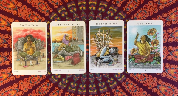 Next World Tarot by Cristy C. Road Question 6