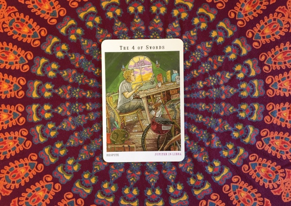 Next World Tarot by Cristy C. Road Wild Card