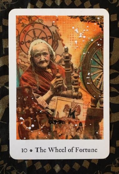 The Wheel of Fortune - Pentimento Tarot by Joanna Powell Colbert.jpg