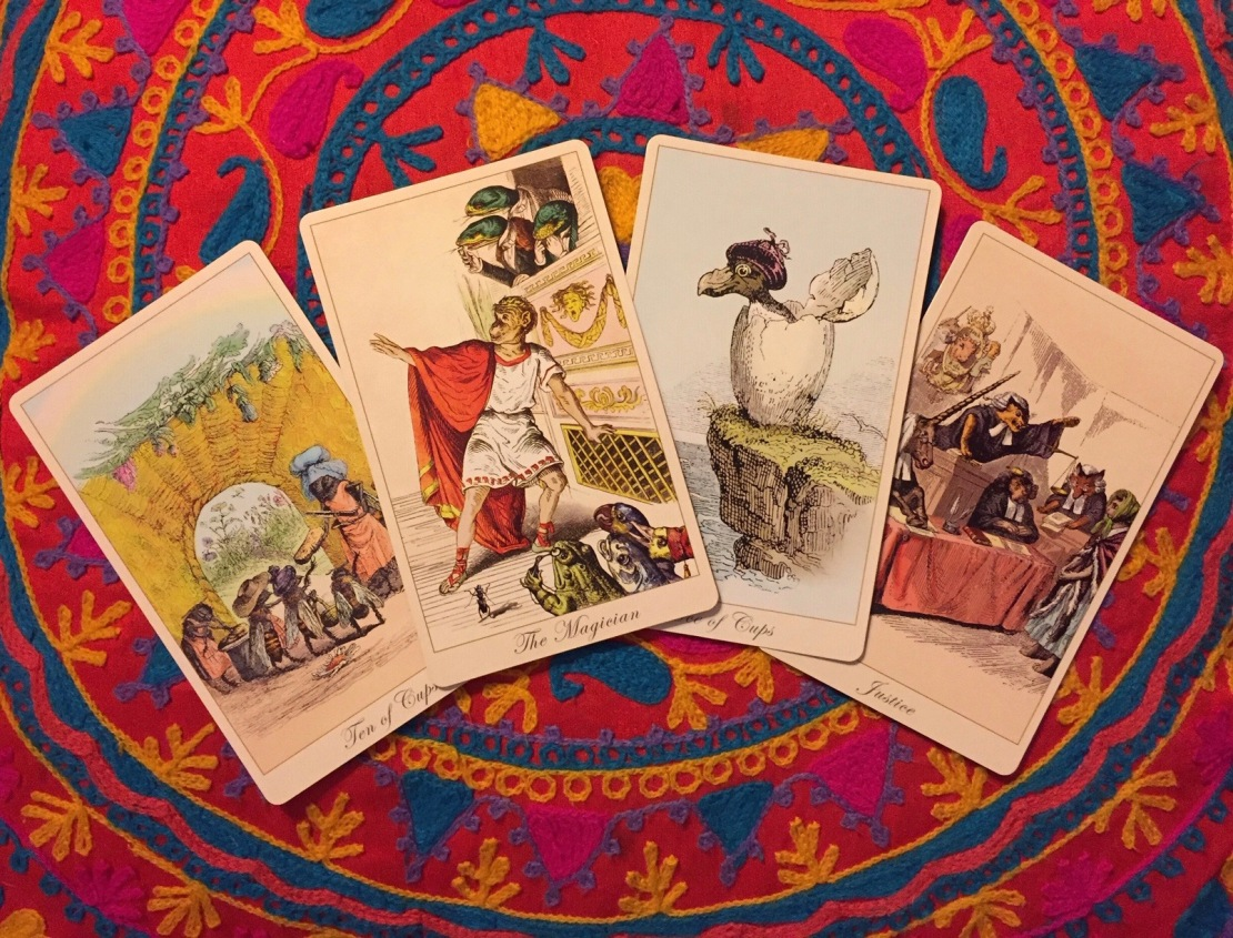 The Fantastic Menagerie Tarot by Karen Mahony & Alex Ukolov.jpeg