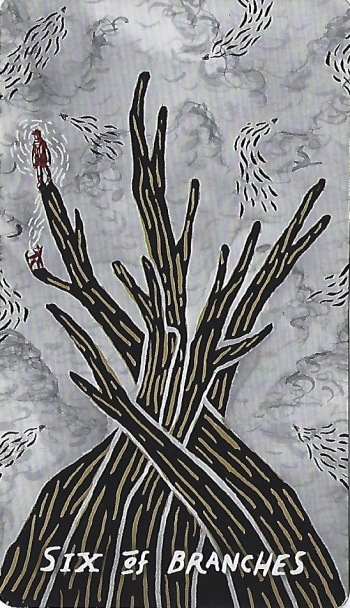 Six of Branches - Slow Holler Tarot by the Slow Holler Collective.jpeg