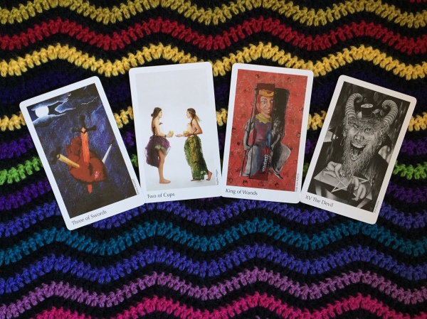 The Elora Tarot Deck, conceived by Shelley Carter