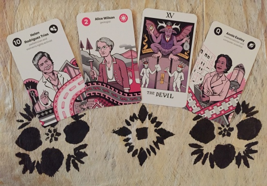 Women of Science Tarot by Nadja Oertelt, Matteo Farinella & Allan Lasser